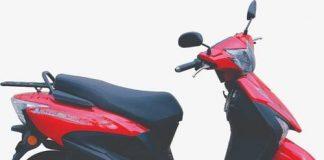 capacity Mahindra scooter